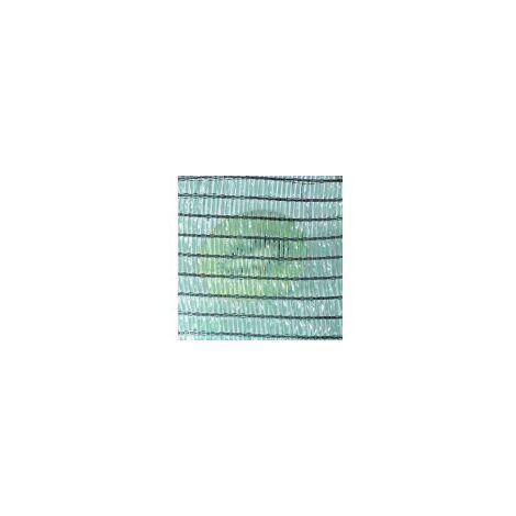Malla Sombreo de 50 m 50% sombreadora Verde oscuro (Elige anchura)