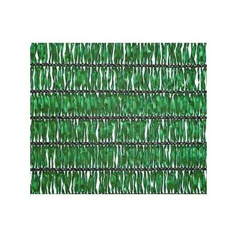 Malla verde De Sombreo Y Ocultacion Especial Obras por metro lineal