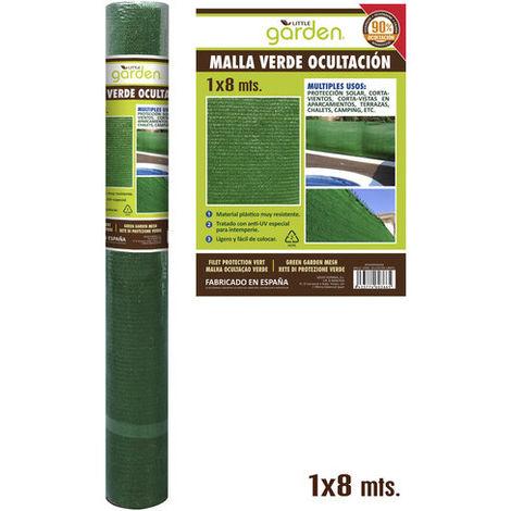 Malla Verde OcultaciÓn 1,5x8 M