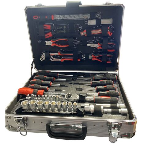 Mallette à outils de 200 pièces Coffrets à double compartiment multi-outils HobbyTech