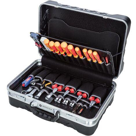 Mallette à outils équipée Bernstein 6700 pour électricien 75 pièces (L x l x H) 470 x 340 x 170 mm 1 set