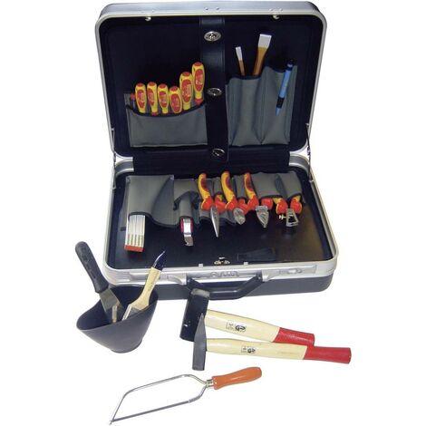 Mallette à outils équipée NWS 321K-1 pour électricien 23 pièces (L x l x H) 460 x 160 x 360 mm 1 set