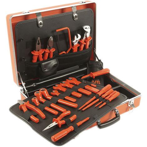 Mallette à outils ESD, Jeu de 20 pièces