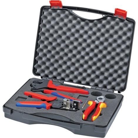 Mallette a outils pour le photovoltaique - KNIPEX 97 91 01