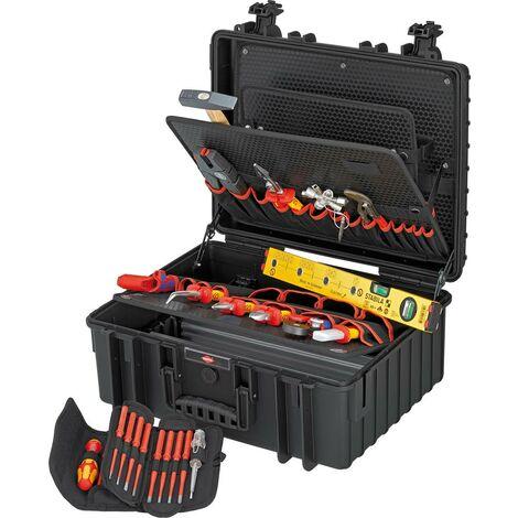 Mallette à outils Robuste 34 Électro 26 pièces KNIPEX 1 PCS