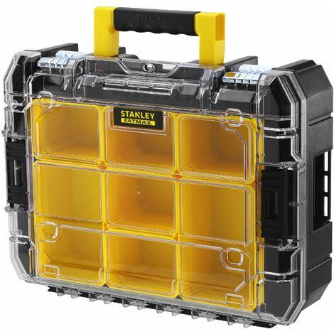 Mallette Organiseur PRO-STACK - 6,3 L - 7 Compartiments - 20 kg Max - FATMAX - STANLEY, FMST1-71970