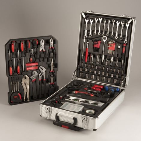 Mallette outils / valise outils 186 pièces