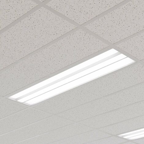 Malo LED panel for louvre ceilings, 30 cm x 120 cm