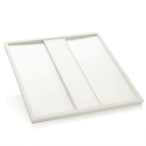 Malo LED panel for louvre ceilings, 62cm x 62cm