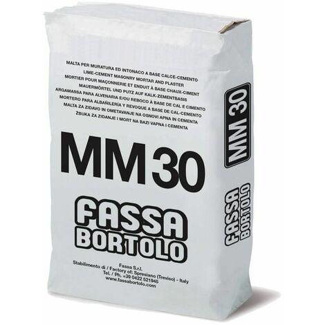 Malta cementizia per muratura 25Kg MM30 Fassa