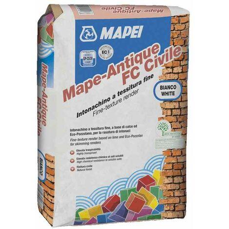 Malta da rasatura 25kg Mape Antique FC Civile Mapei - Colore: BIANCO