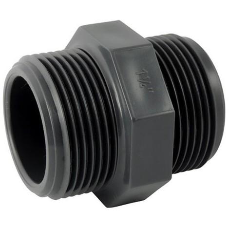 Mamelon PVC pression à visser - Générique - Plusieurs modèles disponibles