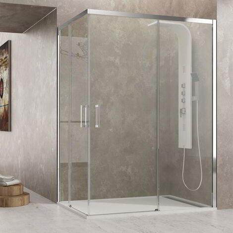 Mampara de ducha AKTUAL Cristal: Transparente