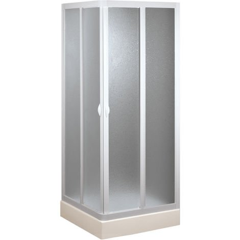 Mampara de ducha de Acrílico mod. Venere con Apertura Central