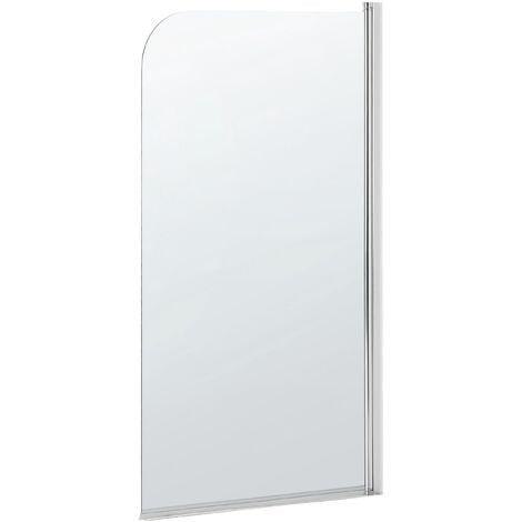 Mampara de ducha de vidrio templado 140x70 cm LAPAN