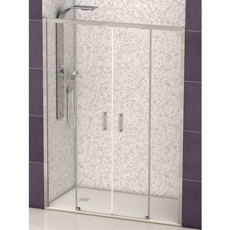 Mampara de ducha Denver doble frontal