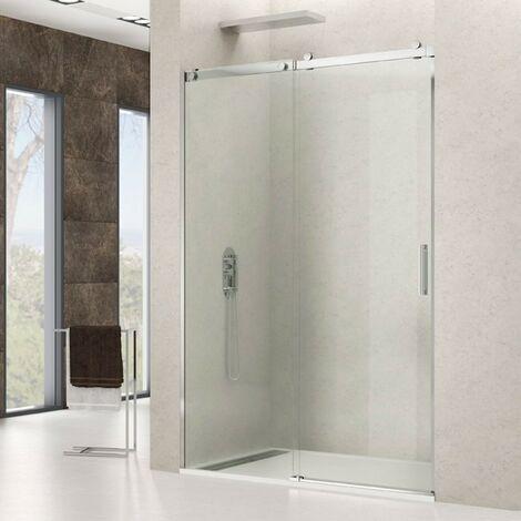 Mampara de ducha en acero ROTARY 1F+1C