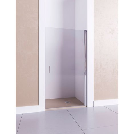 Mampara de ducha frontal de 1 puerta abatible. - Modelo AFRODITA I