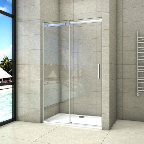 Mampara de ducha Frontal Deslizante, Puerta Corredera, Antical,