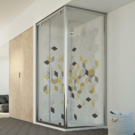 Mampara de ducha mod. Cristal Duo 2 Hojas