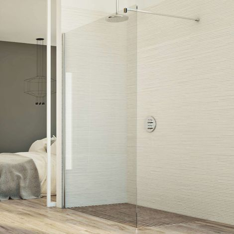 Mampara de ducha Pared mod. Walk In Lato