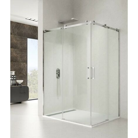 Mampara de ducha ROTARY angular