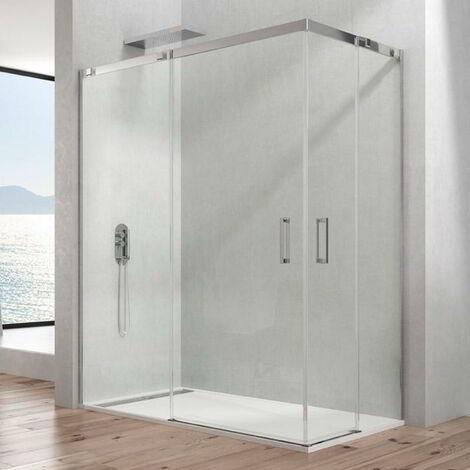 Mampara de ducha TEMPLE angular