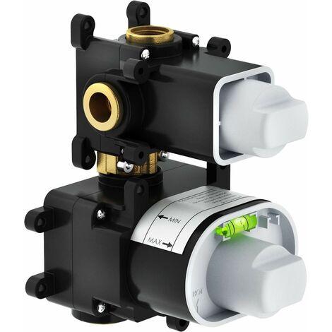 Mampara de ducha termostática empotrada Nobili WE00101 | parte incorporada