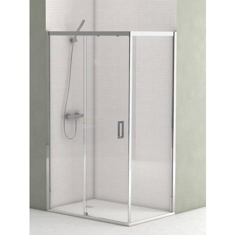 Mampara ducha transparente modelo Denver