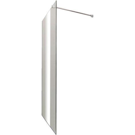 MAMPARA ITALIENNE 8mm con espejo 120 Dimensiones : 120x200 cm - Aqua +