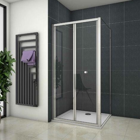Mamparas de ducha Angular Plegable 6mm