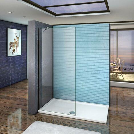Mamparas de ducha Frontales Puerta fijo Cristal 6mm Antical