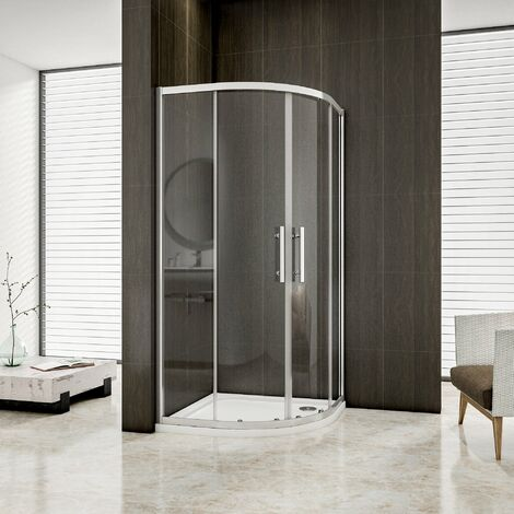 Mamparas de ducha Semicircular Puerta Corredera 6mm