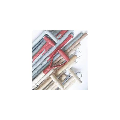 MANCHE BOIS pioche œil rond 50 x 900mm - Muller - 232072