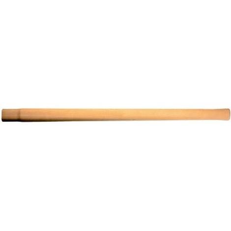 Manche marteau de forgeron en frêne, pour marteau : 5+6 kg, Long. 800 mm