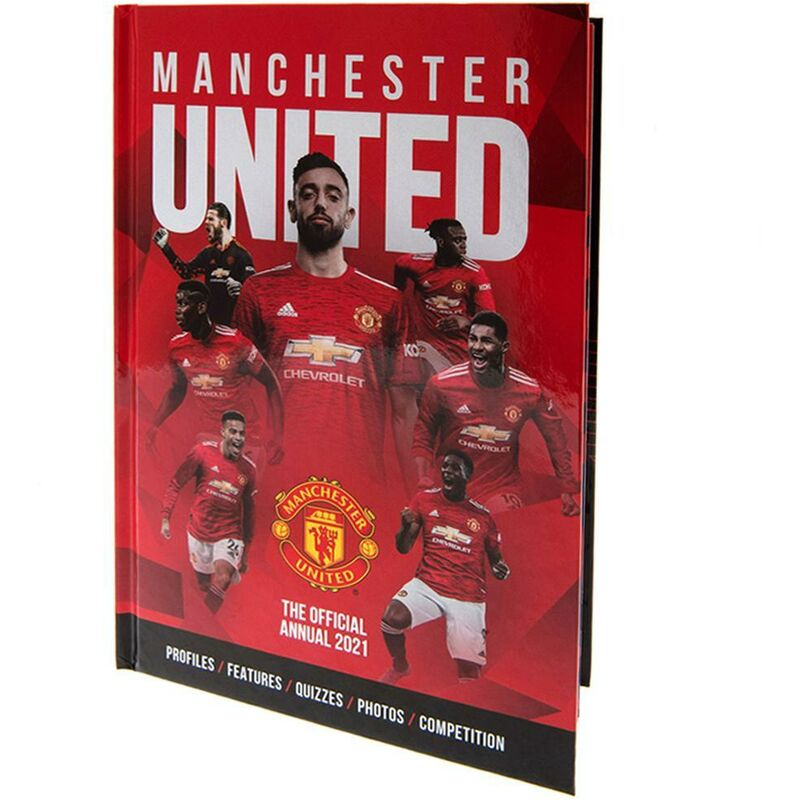 Image of 2021 Annual (One Size) (Red) - Manchester United Fc