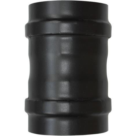 Manchette femelle/femelle noir - Ø 80 mm