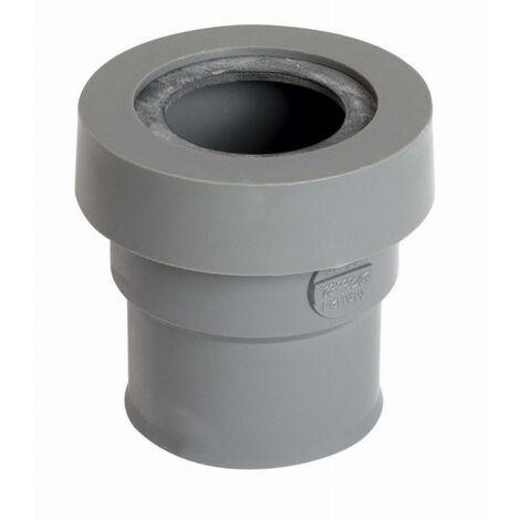 Manchette pour sorties d'appareils sanitaires NICOLL système J - PVC - male-femelle - Ø 40mm - MAHJ