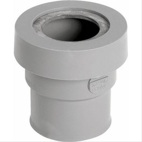 Manchette PVC à joint pour sortie appareil sanitaire FF Ø32 Nicoll