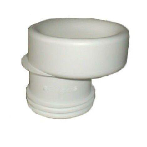 Manchette souple excentrée pour sortie WC - Diamètre 100