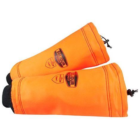 Manchettes AUTHENTIC special tronçonneuse protection 360° classe 1 - SOLIDUR - Orange - - taille: