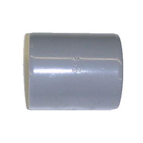 Manchon à butée PVC - Diamètre 40 mm
