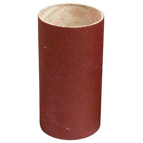 Manchon abrasif pour support caoutchouc D. 62 mm Al. 30 mm Ht. 120 mm Gr. 080 mm - 065.120.080 - Leman - -