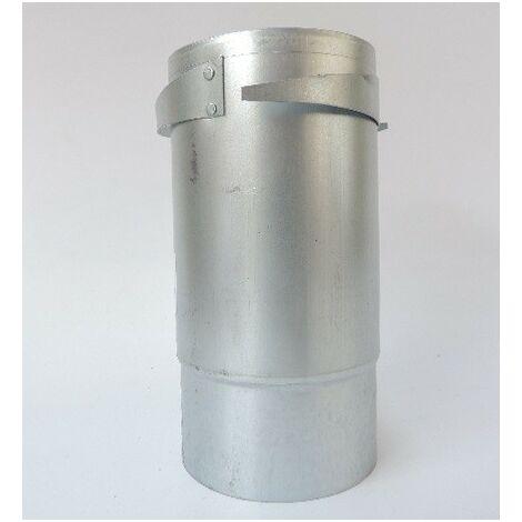 Manchon acier long a griffes pour fixation de bouches réglables B 100LK et BI 100LK dans parois minces ou ép ATLANTIC 523832
