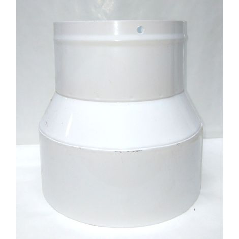 Manchon de réduction 150/120 mm pour lier le flexible à la machine