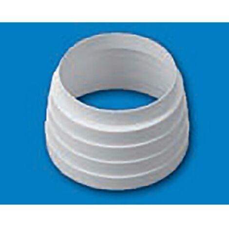 Manchon d'extraction d'air Multi Réducteur Retardateur de flamme et Auto-extinguible Thermoplastique Blanc Sist 100 Tubpla 660