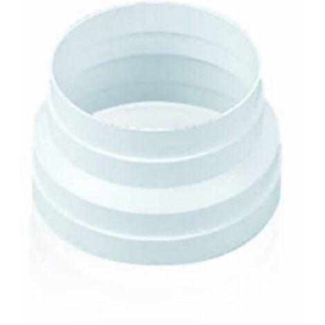 Manchon d'extraction d'air Réducteur direct Réducteur direct ignifugé et auto-extinguible 150A120Mm Polypropylène Blanc Sist 150 Tubpla Su2065-C