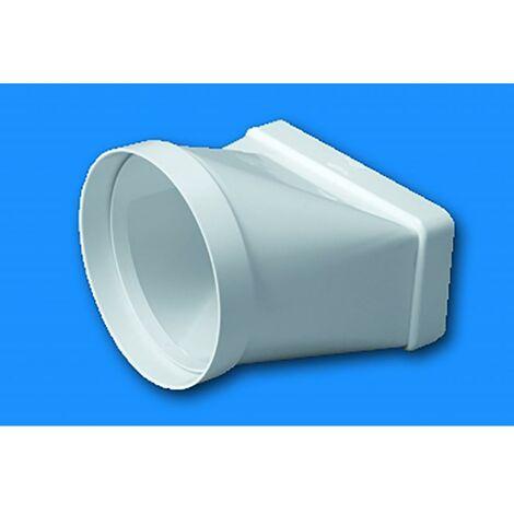 Manchon d'extraction d'air Thermoplastique mixte retardateur de flamme et autoextinguible Tube blanc Sist 100 Tubpla 520