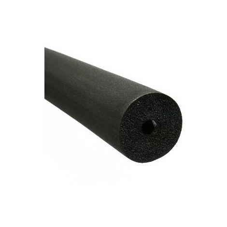 Manchon d'isolation 2m non fendu sanitaire/chauffage - épaisseur 9mm x Ø15