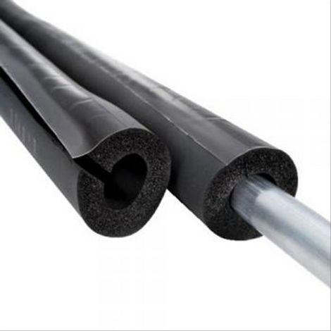 Manchon fendu isolant autocollant ep32mm pour tube Diam22mm L=2m
